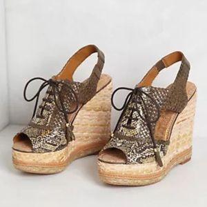 77f968f787ac81 Sam Edelman Shoes - Sam Edelman Tinley Lace-Up Wedge. - Peep toe